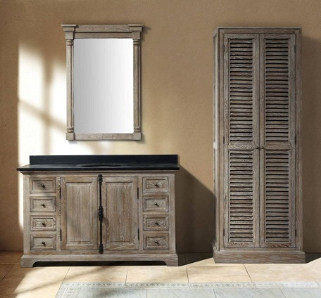 """Providence 60"""" Double Bathroom Vanity With Cabinet 238-105-5611 From James Martin Furniture"""