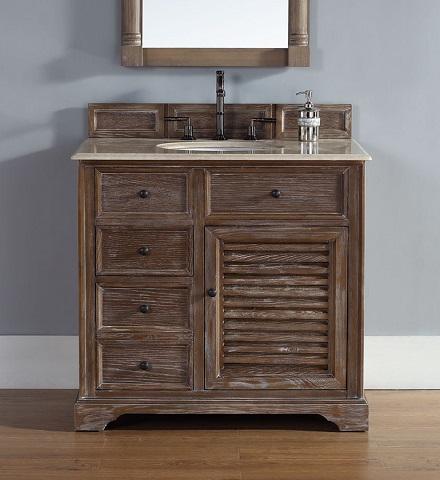 "Savannah 36"" Single Bathroom Vanity 238-104-5511 In Driftwood From James Martin Furniture"