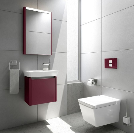 T4 Wall Mounted Toilet 4464-003-0075 From VitrA