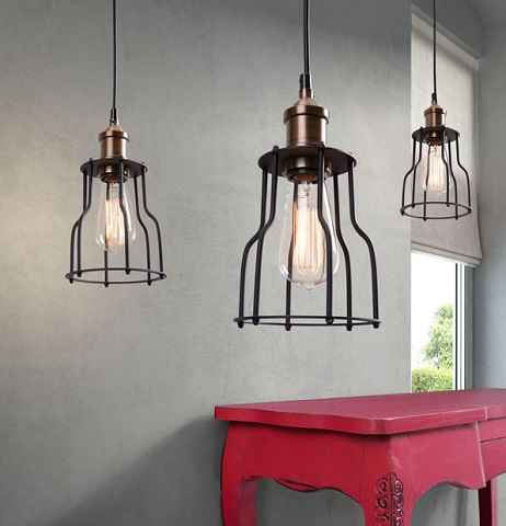 Aragonite Ceiling Lamp 98255 from Zuo Modern