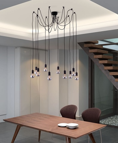 Exposed Bulb Lighting Fixtures For A Modern Or Style