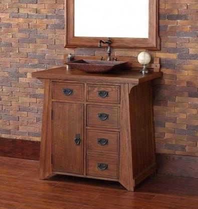 "Pasadena 36"" Single Bathroom Vanity 250-V36-ANO from James Martin Furniture"