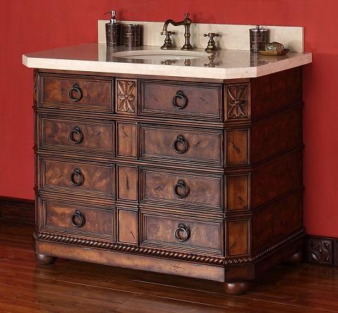 """Regent 42"""" Single Bathroom Vanity 200-V42-ENB From James Martin Furniture"""