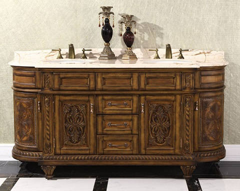 Thailand Oak 71 Double Bathroom Vanity Wb 2871l From Infurniture