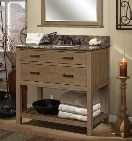 "Toby 36"" Bathroom Vanity Cabinet From Sagehill Designs"