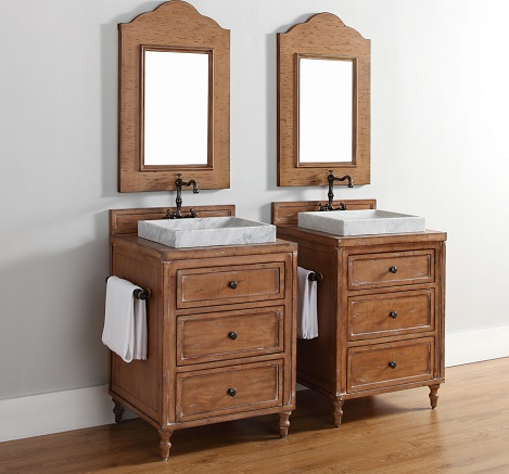 "Copper Cove 26"" Bathroom Vanity Set 300-V26-DRP from James Martin Furniture"