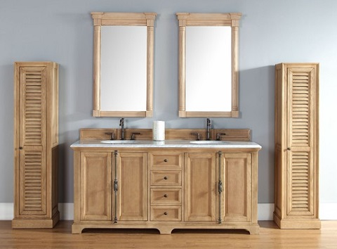 Providence 72 Unfinished Bathroom Vanity In Natural Oak 238 105 5721 From James