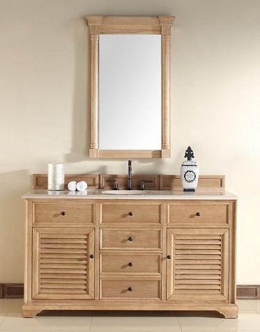Savannah 60 Unfinished Bathroom Vanity In Natural Oak 238 104 5321 From James