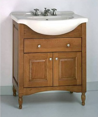 "Windsor 34"" Bathroom Vanity W34L In Light Cherry from Empire Industries"