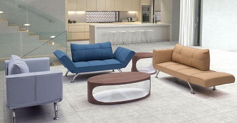 Tranquility Sleeper Settee 900651 from Zuo Modern