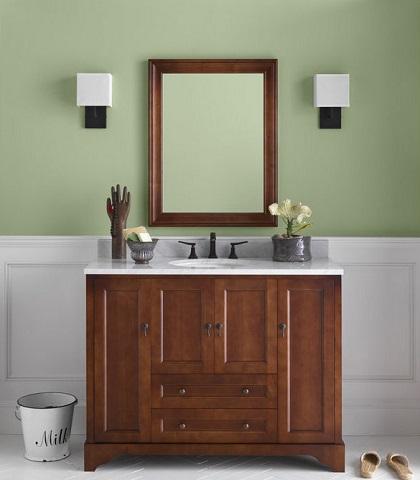 "Milano 48"" Vanity Cabinet 065148 from RonBow"