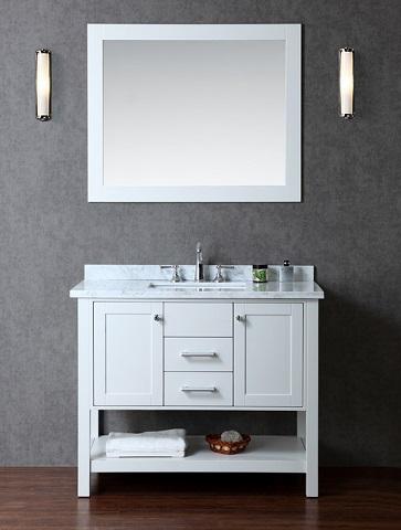 "Seacliff Bayhill 42"" Bathroom Vanity SCBAY42SCG from Ariel"