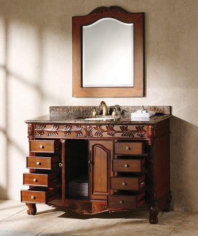 "Classico 48"" Single Vanity in Cherry 206-001-5100"