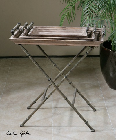 Uttermost Coyne Folding Tray Table 24260