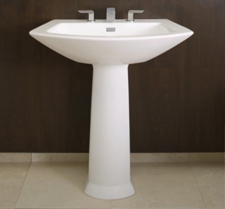 Colonial White Pedestal Sink LPT962 from Toto