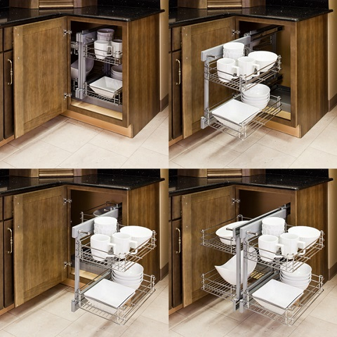 Show Hand Unit For Blind Kitchen Corners CS-SHM Corner Solutions from Hardware Resources