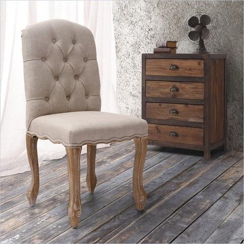 Zuo Modern Noe Valley Chair Beige 98076