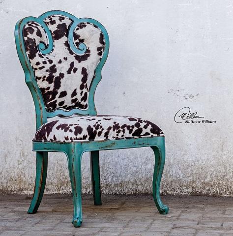 Chahna Velvet Accent Chair 23620 from Uttermost