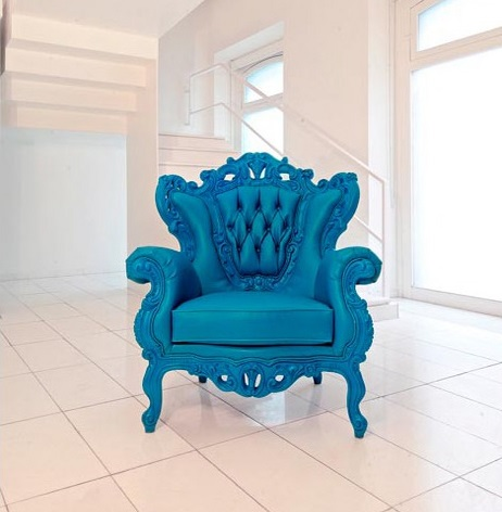 Classic Baroque Arm Chair 4609-C from PolArt
