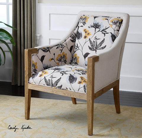 Curran Armchair 23134 from Uttermost
