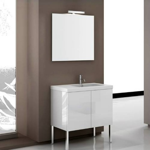"Space SE07 31.1"" Bathroom Vanity from Iotti"