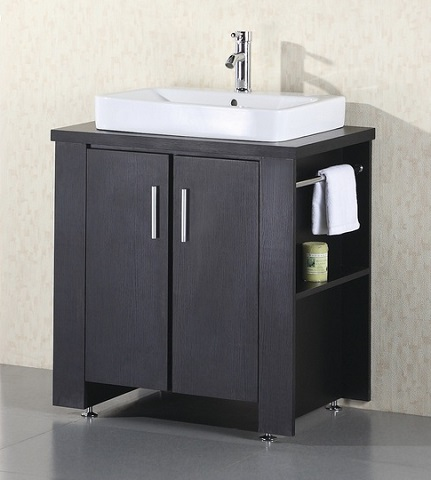 "Washington 36"" Single Bathroom Vanity Set DEC083A from Design Element"