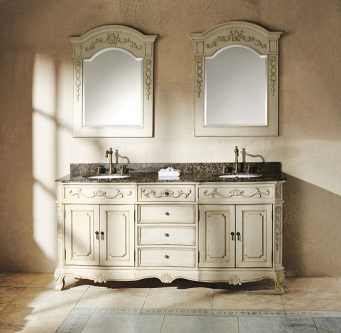 "Classico 72"" Double Vanity in White 206-001-5521 from James Martin Furniture"