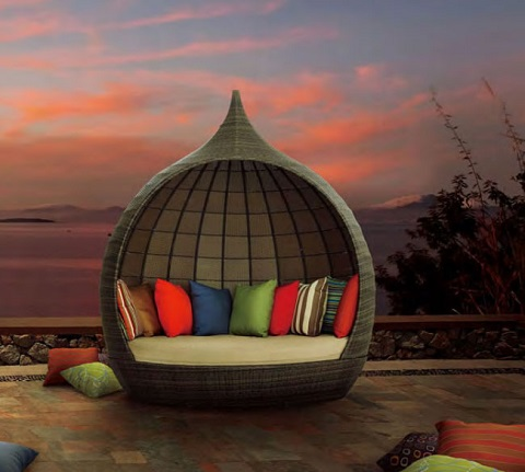 Martinique Beach Daybed 703536 from Zuo Modern