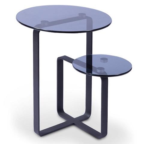 Marco End Table in Black and Grey MARCO-ET frorm Bellini Modern Living