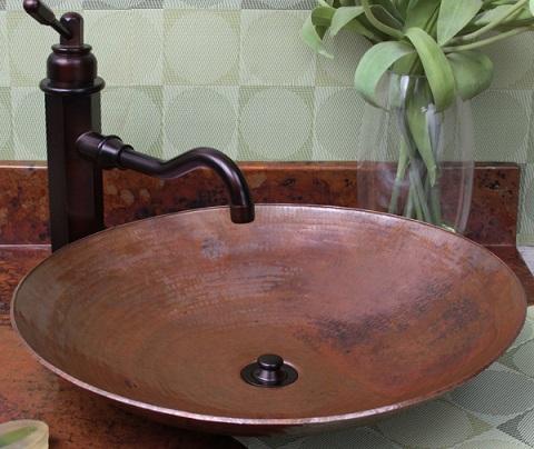 Bellagio SC-BLR Copper Vessel Sink From Sierra Copper