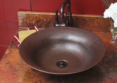 Freemont SC-FRV-13 Copper Vessel Sink From Sierra Copper