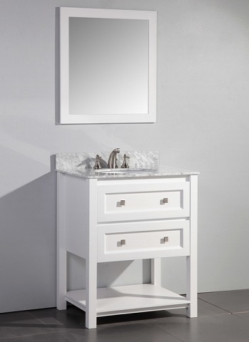 "Marla 30"" Single Sink Bathroom Vanity HD-6868-30-CR from Stufurhome"