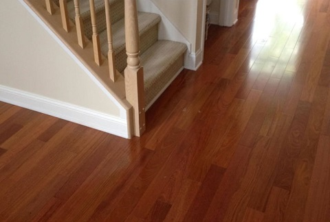 Brazilian Cherry (JATOBA) Natural  Wood Flooring 6202N from Ferma