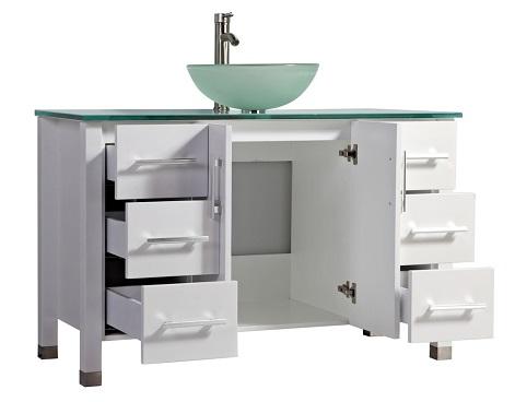 "Cuba 48"" Single Sink Bathroom Vanity Set MTD-8116B from MTD"