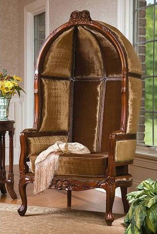 Lady Alcott Victorian Balloon Chair KS1140 from Toscano
