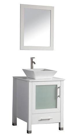"""Malta 24"""" Single Sink Bathroom Vanity Set MTD-8137C from MTD"""