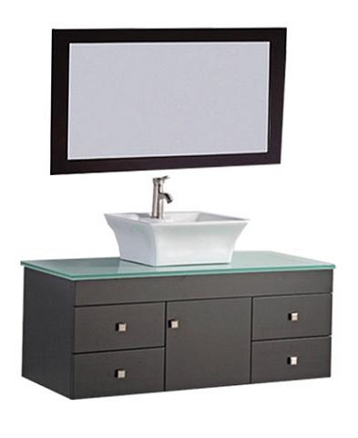 "Nepal 48"" Single Sink Wall Mounted Bathroom Vanity Set MTD-1248 from MTD"