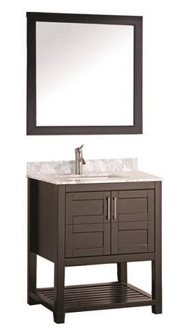 """Norway 24"""" Single Sink Bathroom Vanity Set MTD-2124 from MTD"""
