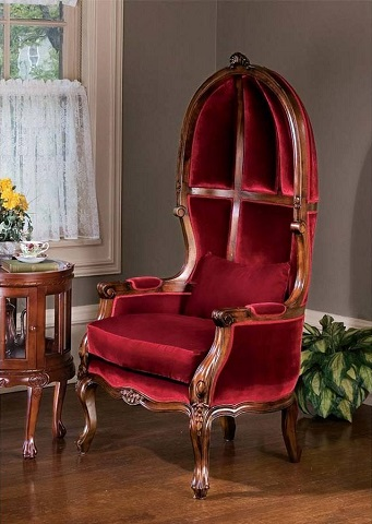 Victorian Parlor Balloon Chair AF16755 from Toscano