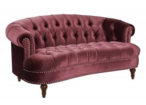 La Rosa Red Tufted Sofa 2525-2-673 from Jennifer Taylor