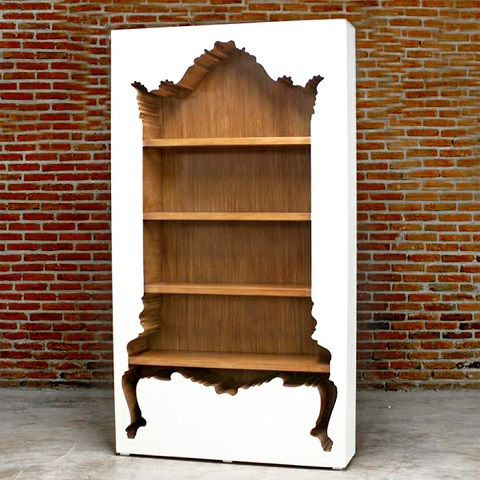 InsideOut BookCase 4401-A from PolArt