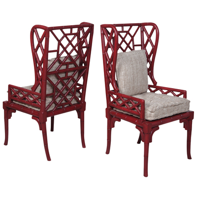 Bamboo Wing Back Chair 692505P by Guild Master