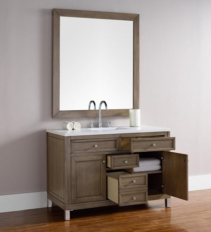 "Chicago 48"" Single Bathroom Vanity 305-v48-www from James Martin Furniture"