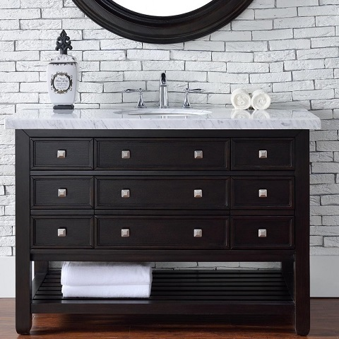 "Vancouver 48"" Single Bathroom Vanity with Drawers 505-v48-ceo from James Martin Furniture"