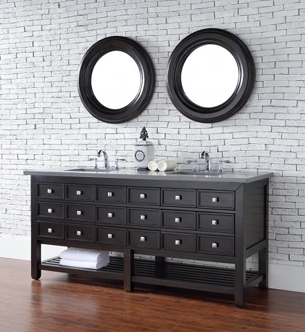 "Vancouver 72"" Single Bathroom Vanity with Drawers 505-v72-ceo from James Martin Furniture"