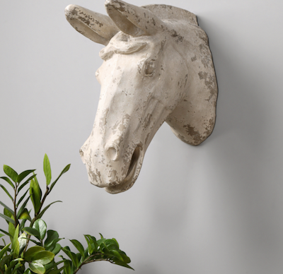 Horse Head Plaque 13915 by Uttermost