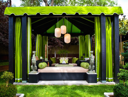 Take your lounging to the next level with a day bed (By Gregg Hodson Interior Design)