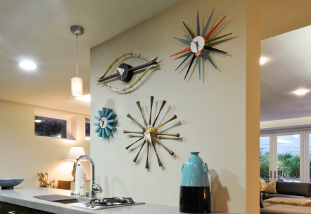 Clock or abstract art? Hard to say. (by Blutter Shiff Design Associates)