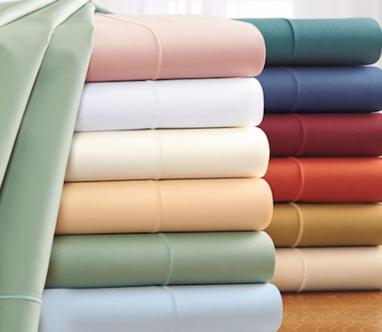 500 Thread Count Italian Percale Sheets Z3750_30 by Royal River Trading