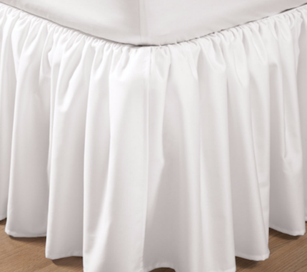 "Sateen Gathered Bedskirt - 18"" Drop Z5719 by Royal River Trading"